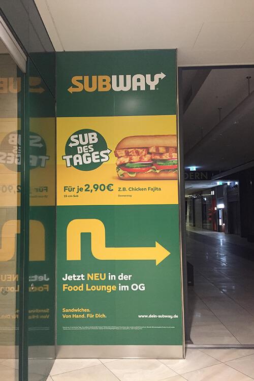 Digitaldruck Subway Beispielbild 500x750