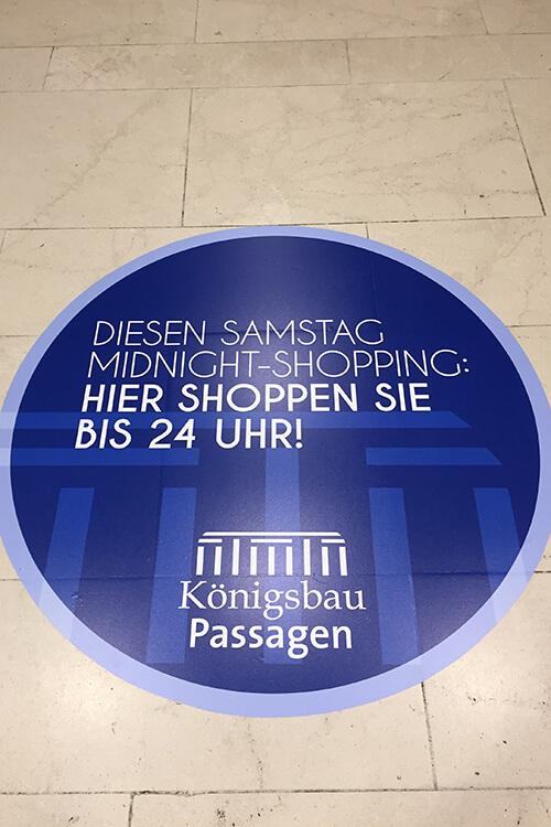 Digitaldruck Königsbau Passagen Beispielbild 500x750