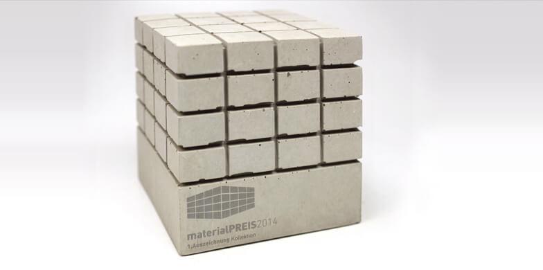 Lasergravur auf Beton - Individuelle Anfertigung - Designcon Stuttgart